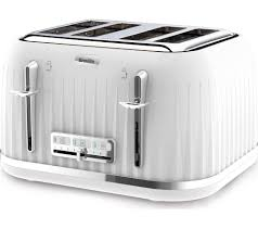Currys Small Kitchen Appliances Impressions Vtt470 4 Slice Toaster White Kitchen Appliances