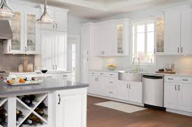 Painting Kitchen Cabinets White For Cleaner Interior Gallery