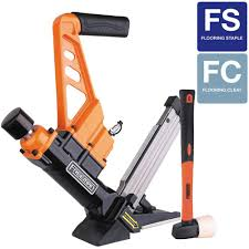 freeman 3 in 1 flooring air nailer and stapler with fibergl mallet