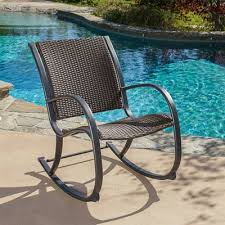 wicker rocking chair. Best Selling Home Decor Sherry Outdoor Wicker Rocking Chair