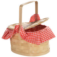 red riding hood basket purse 22cm x 11cm