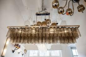 rectangular chandelier custom