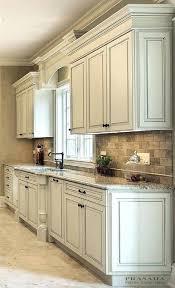 antique white glazed kitchen cabinets for lovely painting glaze