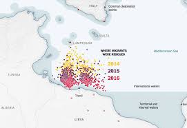 Beautiful Maps On Twitter Efforts To Rescue Migrants Caused Deadly