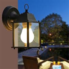 1x european style outdoor led porch lights wall sconces waterproof outdoor lamps for balcony aisle corridor garden black jpg