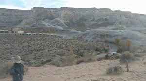 aman resorts utah 2. Canyon Point, Utah - Amangiri Resort Grounds View + Broken Arrow Cave 2017 Nov. 23 Aman Resorts 2