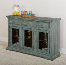 distressed blue furniture. Rustic Collectibles Sideboard (Distressed Blue) Distressed Blue Furniture