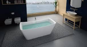 photo of virta bathroom furniture toronto on canada virta santiago freestanding acrylic
