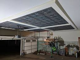 your bat with drop ceiling tiles