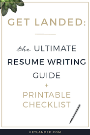 best ideas about good resume examples resume all the best resume writing tips in one place the ultimate resume writing guide and