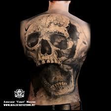 александр саныч мосолов тату на спине Tattoo Magnum