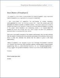 9 Best Employee Recommendation Letter Images Entrepreneurship