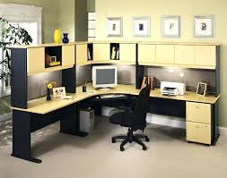 office desk with shelves.  Desk Large Corner Office Desk Small Shelves Morgan Beech  Computer On Office Desk With Shelves N