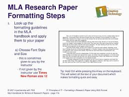 Mla Citation Template Research Paper Mla Citation Online Format Style Example