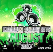 Vocal Star Karaoke Chart Hits August 2017 Vsch008