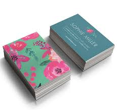 Instant Download! Business Card Template - Event Planner - Flower ...
