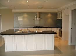 stylish white kitchen cabinet doors with glass for elegant kitchen