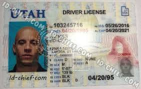 Fake Maker Id-chief Cards Utah Id Scannable