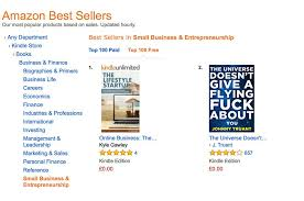 Amazon Book Charts Sales Uk How I Ranked In Amazons Top 100 Bestsellers In 8 Hours Self
