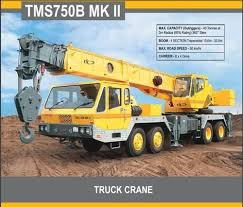 Yellow Latest Hydraulic Truck Cranes In India Til Limited