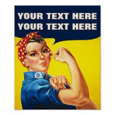 Vintage Girl Power Posters Photo Prints Zazzle