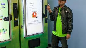 Dispensary Vending Machine Awesome The Radical Efficiency Of The Pot Vending Machine The Atlantic