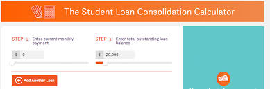 Student Loan Consolidation Comet