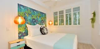 Rainforest Bedroom Retro Port Douglas Rainforest