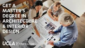 get a master s degree in architecture interior design from ucla extension