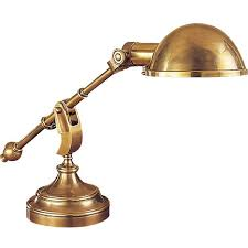vintage style desk lamp. Brilliant Lamp Vintage Style Brass And Steel Desk Lamp Intended D