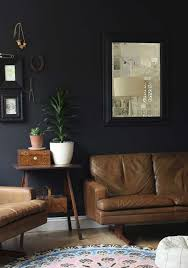 brown walls black furniture. 51 living room interior design ideas brown walls black furniture
