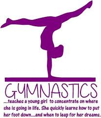 Gymnastics Quotes Unique Amazon Teaching Gymnastics Quote Teaching A Young Girl