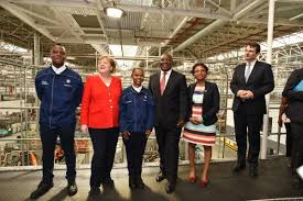 Ramaphosa admitted that his government has been too slow in the process of restitution and redistribution of farmlands, stressing that land is a key pillar for economic emancipation and freedom. President Cyril Ramaphosa And German Chancellor Angela Merkel Meet The Engineers Of The Future At Bmw Group Plant Rosslyn