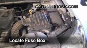 replace a fuse chrysler sebring chrysler sebring replace a fuse 2007 2010 chrysler sebring 2007 chrysler sebring limited 2 4l 4 cyl
