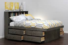 diy queen platform bed with drawers