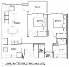 WHEELCHAIR ACCESSIBLE FLOOR PLANS  Wheelchair Accessible Home Plans  Handicap House Plans  Build A