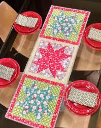joyful snowflake table runner 12 x 51 free pattern by ameroonie designs pdf