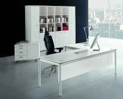 modern white l shaped computer desk