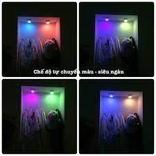 Đèn LED Dán tường Trang trí Phòng ngủ 1W , ĐÈ LED Decor nhà cửa Điều khiển  từ xa CÓ HẸN GIỜ TẮT giá cạnh tranh