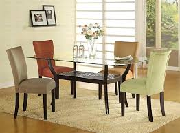 rectangle glass dining room table appealing glass top dining room tables rectangular within inspiring rectangular glass