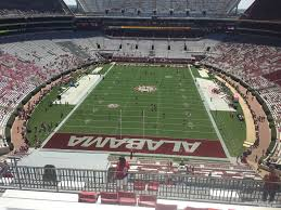 Alabama Seating Chart Bryant Denny Bryant Denny Stadium Section Nn7 Rateyourseats Com