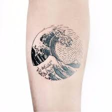 Great Wave Japanese Traditional Tattoos Ocean Tattoos Sea Tattoo