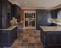 Antique Black Kitchen Cabinets Cool Ideas