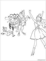 tori s loyal horse coloring pages