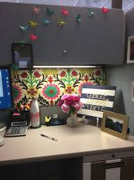 office cubicle ideas. How Decorate Your Cubicle Office Cubicles Work Decorating Ideas Simple Need A Sweet Sign In Turquoise O