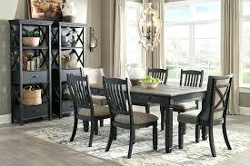 7 piece black dining room set. Black 7 Piece Dining Set Creek Gray Room Denmark Classic Distressed .