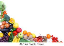fruit and vegetables border. Beautiful Fruit Fruits And Vegetables Frame To Fruit And Vegetables Border L