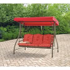 mainstays warner heights converting outdoor swing hammock red seats 3 com