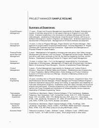 Crm Project Manager Resume Entry Level Project Manager Resume Resume Summary Examples And How 15