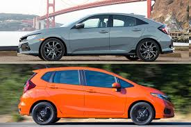2019 Honda Civic Vs 2019 Honda Fit Whats The Difference